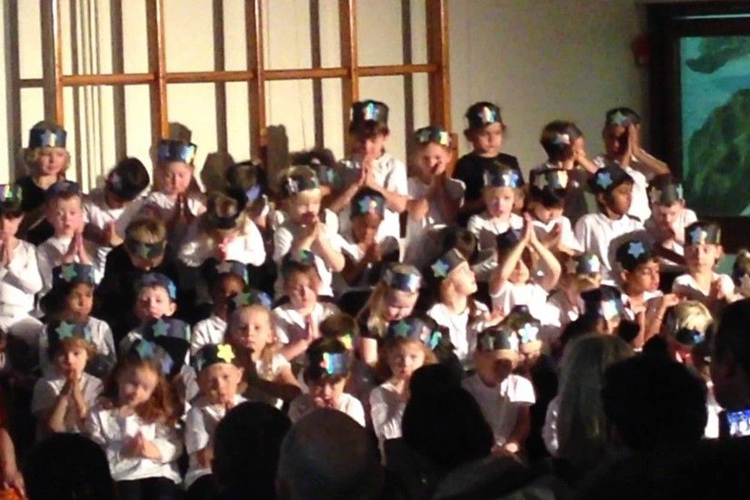 Go to sleep little one - Christmas Nativity Play Song 2014