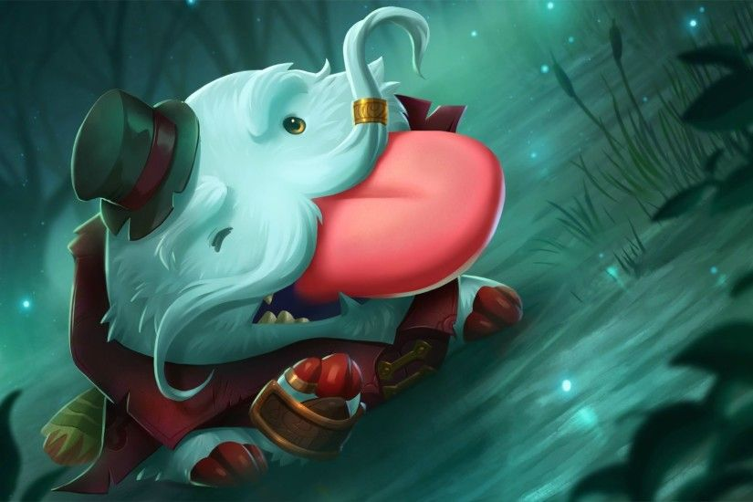Tahm Kench Poro wallpaper
