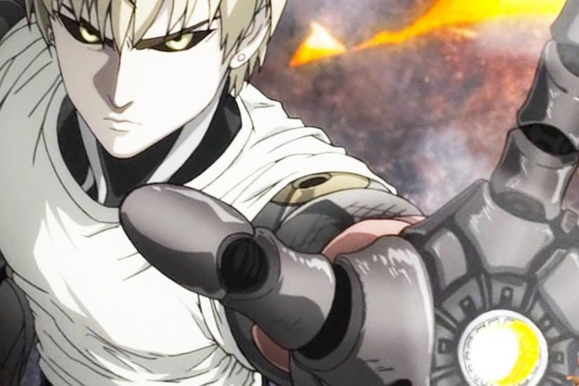 One Punch Man Genos Wallpaper Iphone