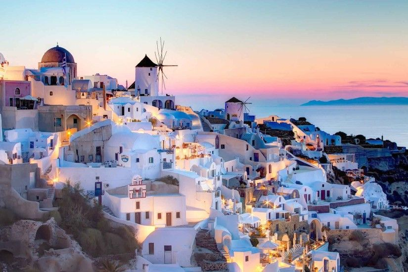 Top 20 Santorini Wallpaper
