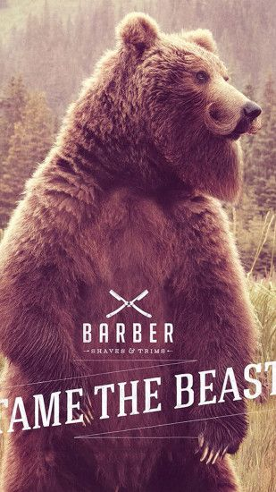 Bear beard Wallpapers for Galaxy S5