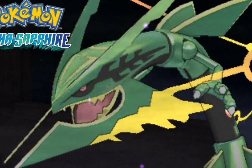 Pokémon Alpha Sapphire Delta Episode Part 4 - MEGA RAYQUAZA (Gameplay  Commentary) - YouTube