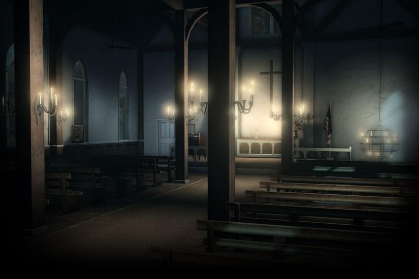 Image - Alan Wake Background Church.jpg - Steam Trading Cards Wiki