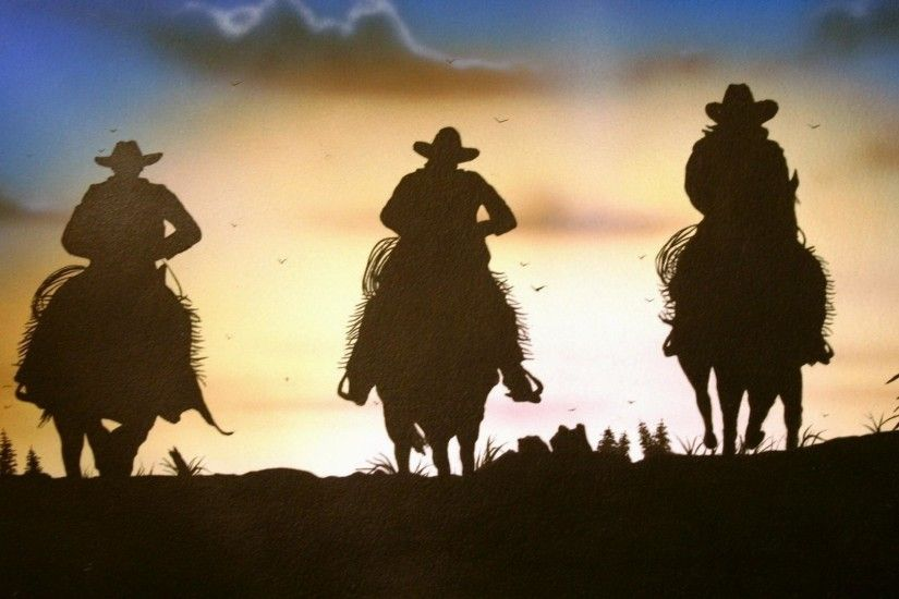Cowboy-and-Horse-Wallpaper-HD