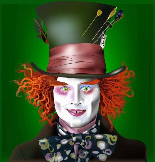 Mad Hatter Vector by taiperini Mad Hatter Vector by taiperini