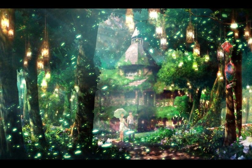 Scenic Anime Backgrounds 339303