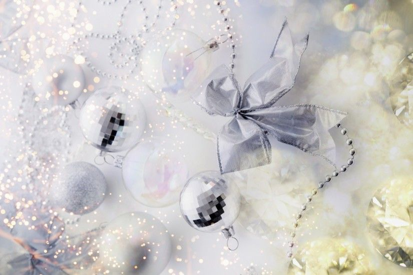 ... White Christmas ornaments