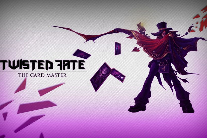 The Magnificent Twisted Fate by WR-Dwyndle HD Wallpaper Fan Art Artwork  League of Legends