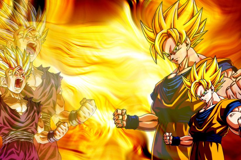 HD Super Saiyan Goku Wallpaper Full Size - HiReWallpapers 836
