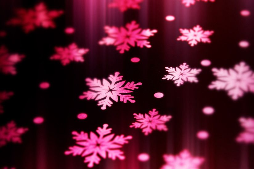 pink snowflake background 11816