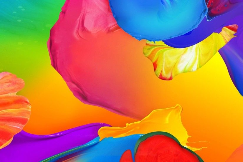 COLORFUL PAINT SPLASH WALLPAPER. |DOWNLOAD|