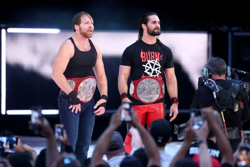 Seth Rollins & Dean Ambrose def. The Hardys The band is back together, and  the dream matches have already begun. Dean Ambrose & Seth Rollins opened  their ...