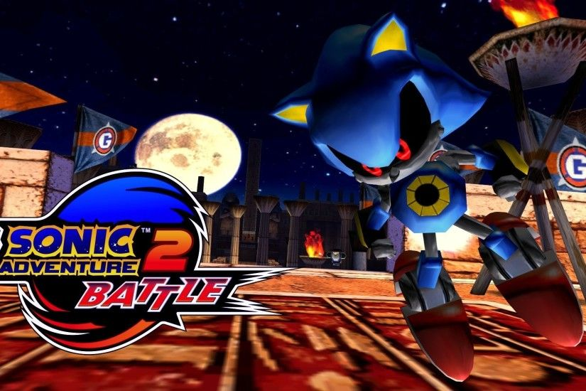Sonic Adventure 2: Battle - Sand Ocean - Metal Sonic [REAL Full HD,  Widescreen] 60 FPS - YouTube