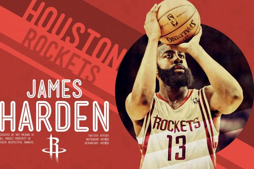 James Harden Rockets Wallpaper James harden by roy03x