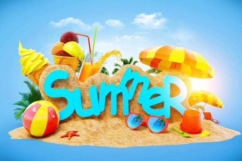 free download summer backgrounds 2048x1280