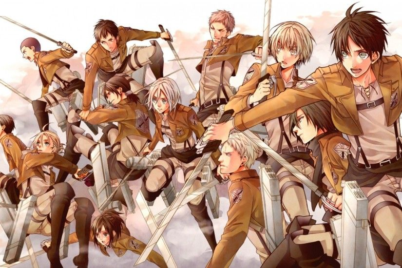 HD Wallpaper | Background ID:607872. 1920x1080 Anime Attack On Titan