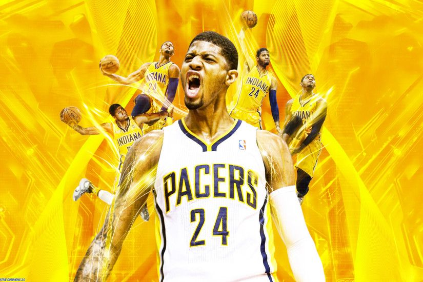 Paul George Indiana Pacers 2560×1440 Wallpaper