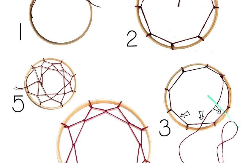 Inspirational How To Tie A Dreamcatcher 15 For Your Design Pictures with  How To Tie A Dreamcatcher