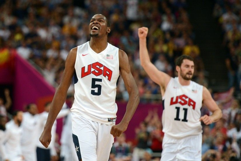 Team USA Kevin Durant 4K Wallpapers