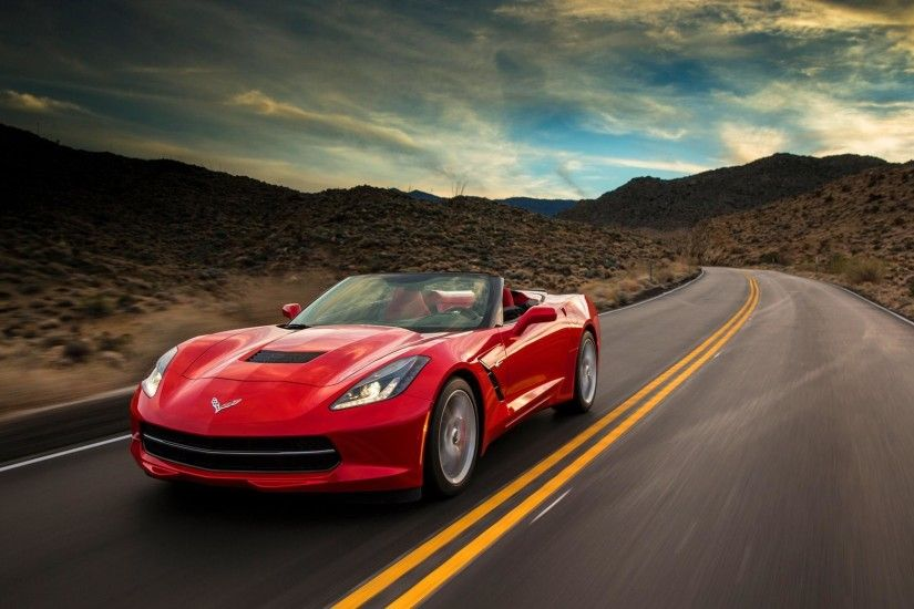 Hd Chevrolet Corvette Stingray Convertible 2015 Wallpaper