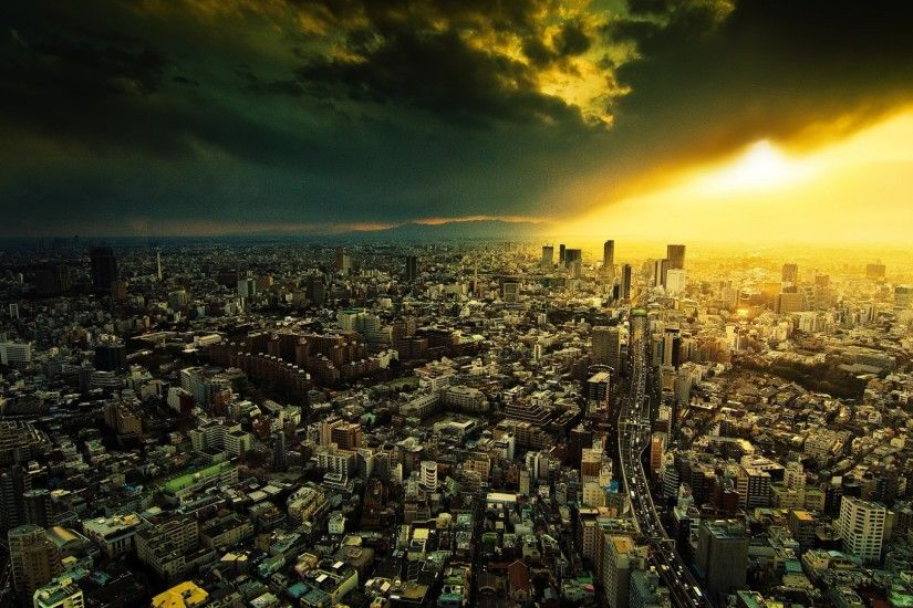 1920x1080 Wallpaper city, night, view from above, light · Tokyo JapanEnd Of  The WorldThe ...