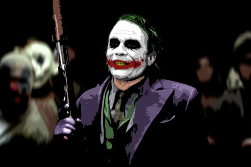 Joker Heath Ledger HD