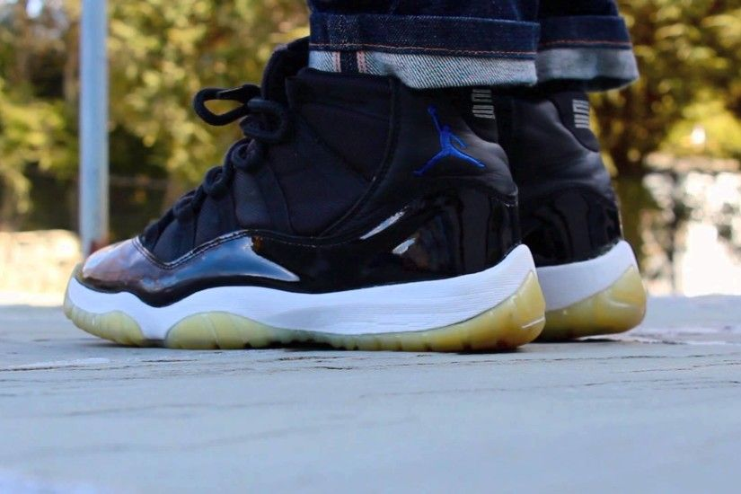 Space Jam XI's On Feet