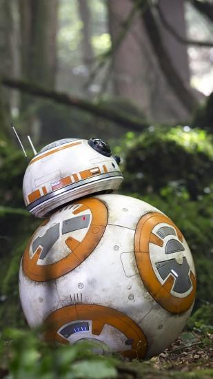 BB8 Rey Star Wars The Force Awakens Movie Wallpaper | WallpapersByte