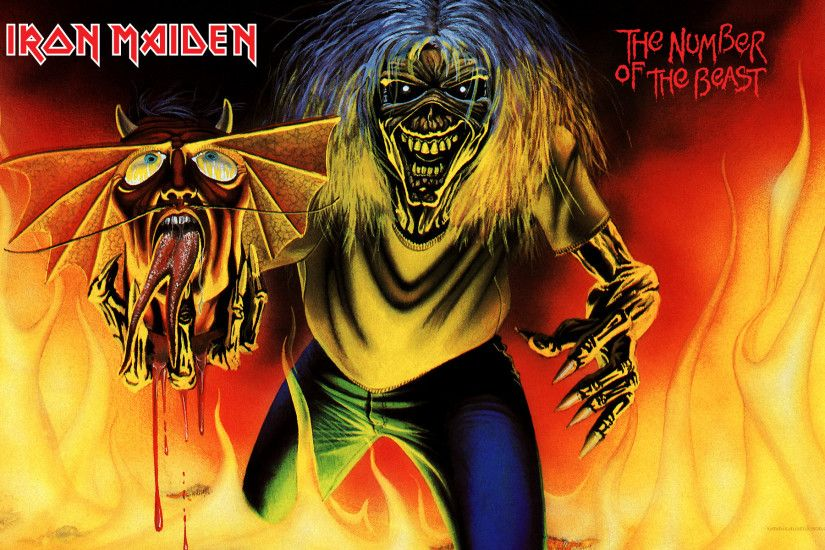 Top 20 Iron Maiden Wallpapers - My Free Wallpapers Hub ...