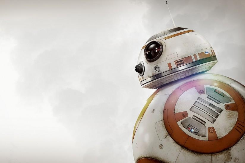 BB 8, Star Wars: The Force Awakens, Robot, Science Fiction, Star Wars  Wallpaper HD