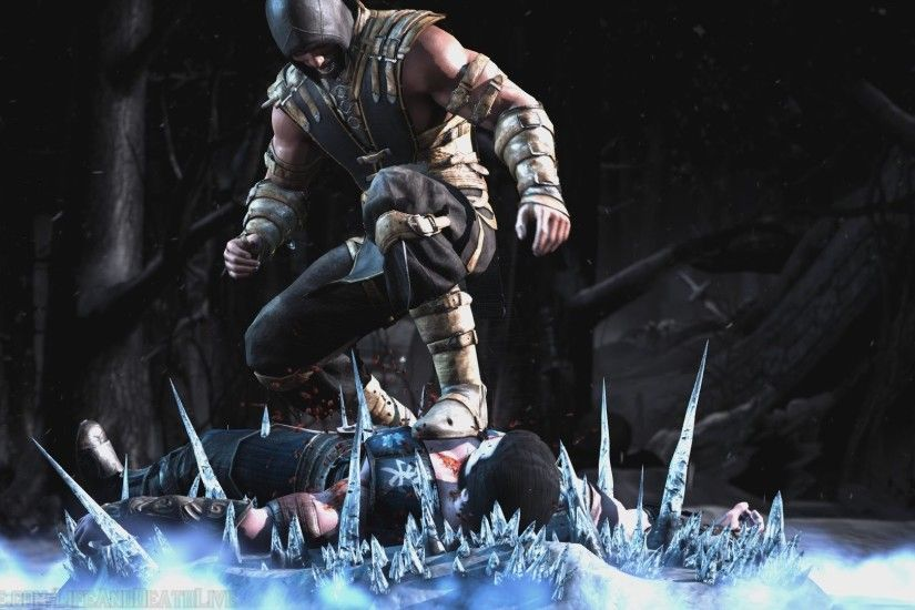 Mortal Kombat Scorpion Vs Sub Zero Wallpaper ①
