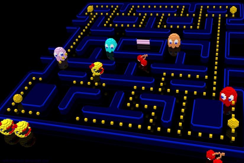 3D Ms Pac-Man by NES--still-the-best on DeviantArt