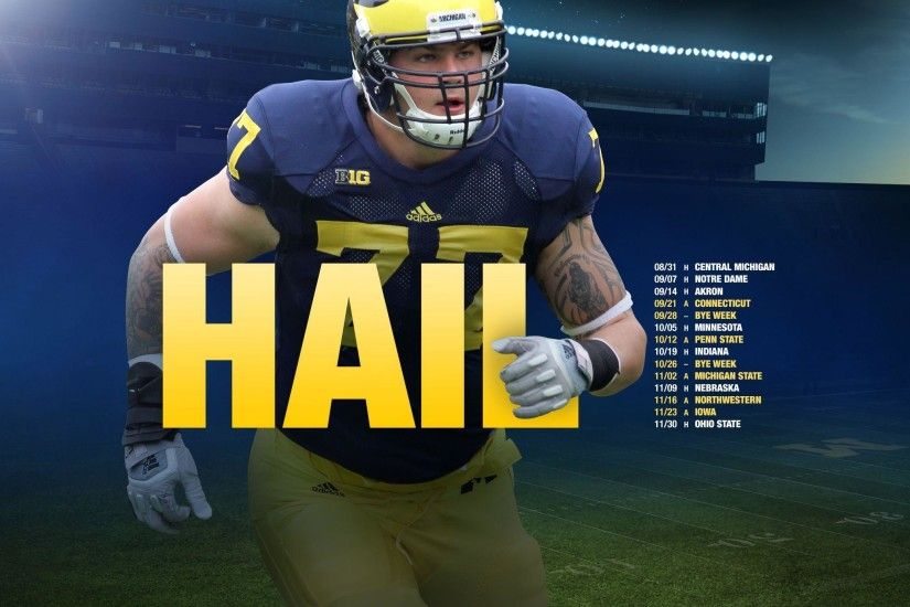 Michigan Football Schedule 2015 Wallpaper - WallpaperSafari