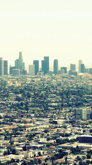 Los Angeles City View Android Wallpaper ...
