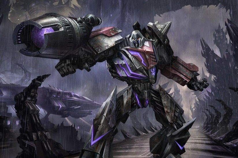 Transformers Fall of Cybertron Megatron Wallpaper