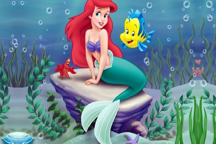 The Little Mermaid Disney Background Image for iPhone 6