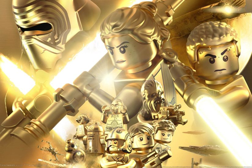 ... LEGO Star Wars: The Force Awakens wallpaper or background 02