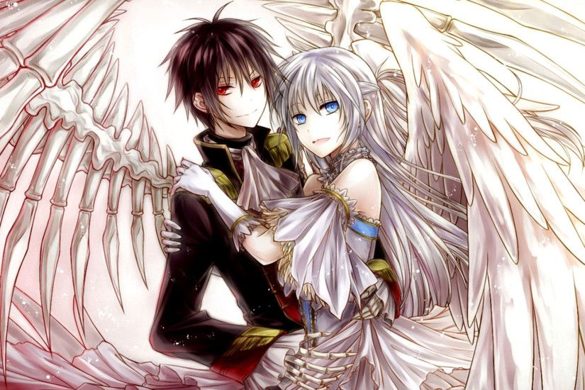Beautiful Anime Couple Wallpaper HD Images One HD Wallpaper Anime Couple Wallpaper  Wallpapers)