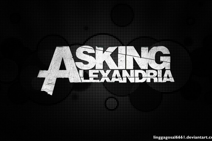 Asking Alexandria Logo Hd Wallpaper by LinggaGosal6661 Asking Alexandria  Logo Hd Wallpaper by LinggaGosal6661