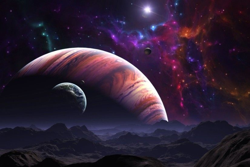 uter space planetarium awesome wallpaper · Universal View ...