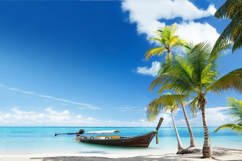 tropical beach wallpaper. Â«Â«