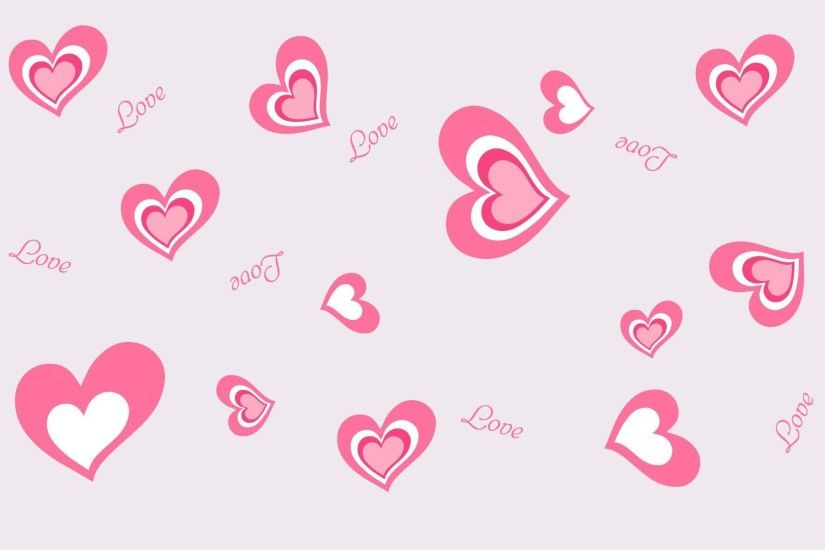 Most Downloaded Pink Hearts Wallpapers - Full HD wallpaper search