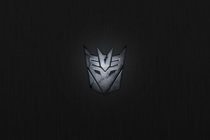 Decepticon, Logo, Black Background wallpaper thumb