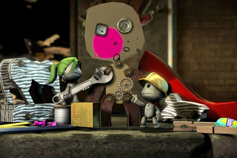 Cartoon - LittleBigPlanet Wallpaper