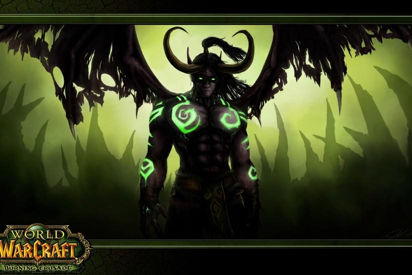 WOW: Illidan Stormrage Background