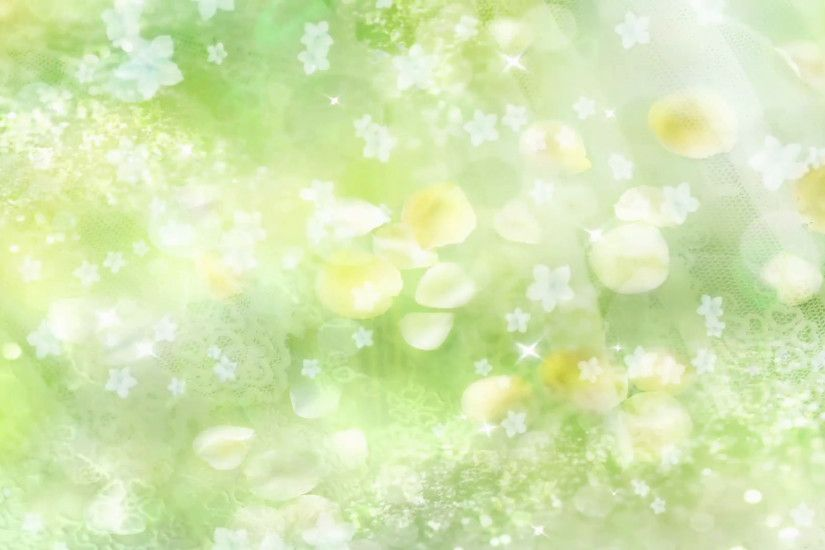 Green Flowers - Abstract Wedding Background 03 Stock Video Footage -  VideoBlocks