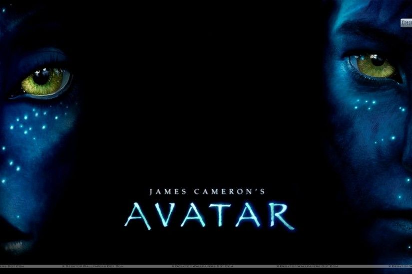 "You are viewing wallpaper titled ""Avatar Movie Poster"" ..."