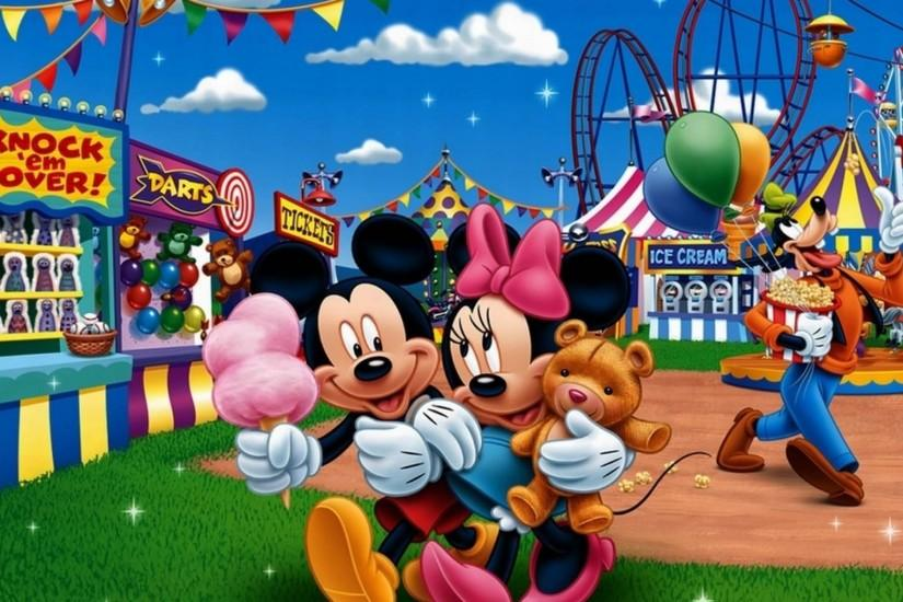 Mickey Mouse & Minnie Mouse Wallpaper Full HD with Wallpapers High Quality