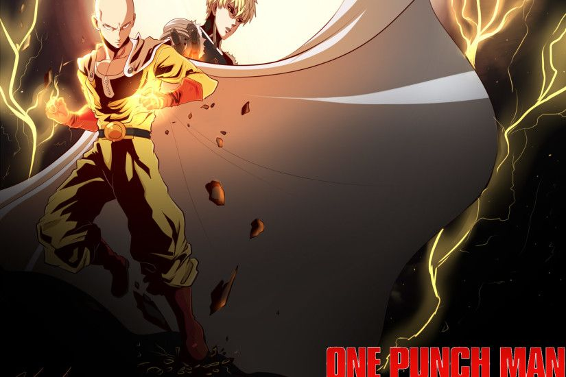 Anime - One-Punch Man Saitama (One-Punch Man) Genos (One