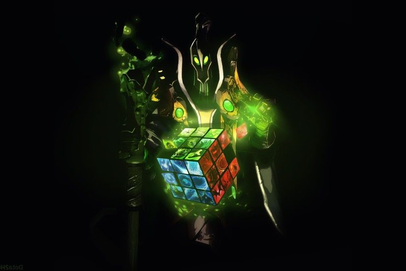 Dota 2, Rubick The Grand Magus, Rubiks Cube Wallpapers HD / Desktop and  Mobile Backgrounds